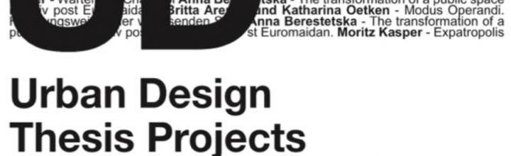 thesis presentation master urban design