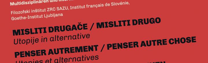 "Rencontres multidisciplinaires internationales ""Penser Autrement"""