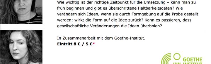 Literarisches Colloquium:Ideen und ihre Zeit.